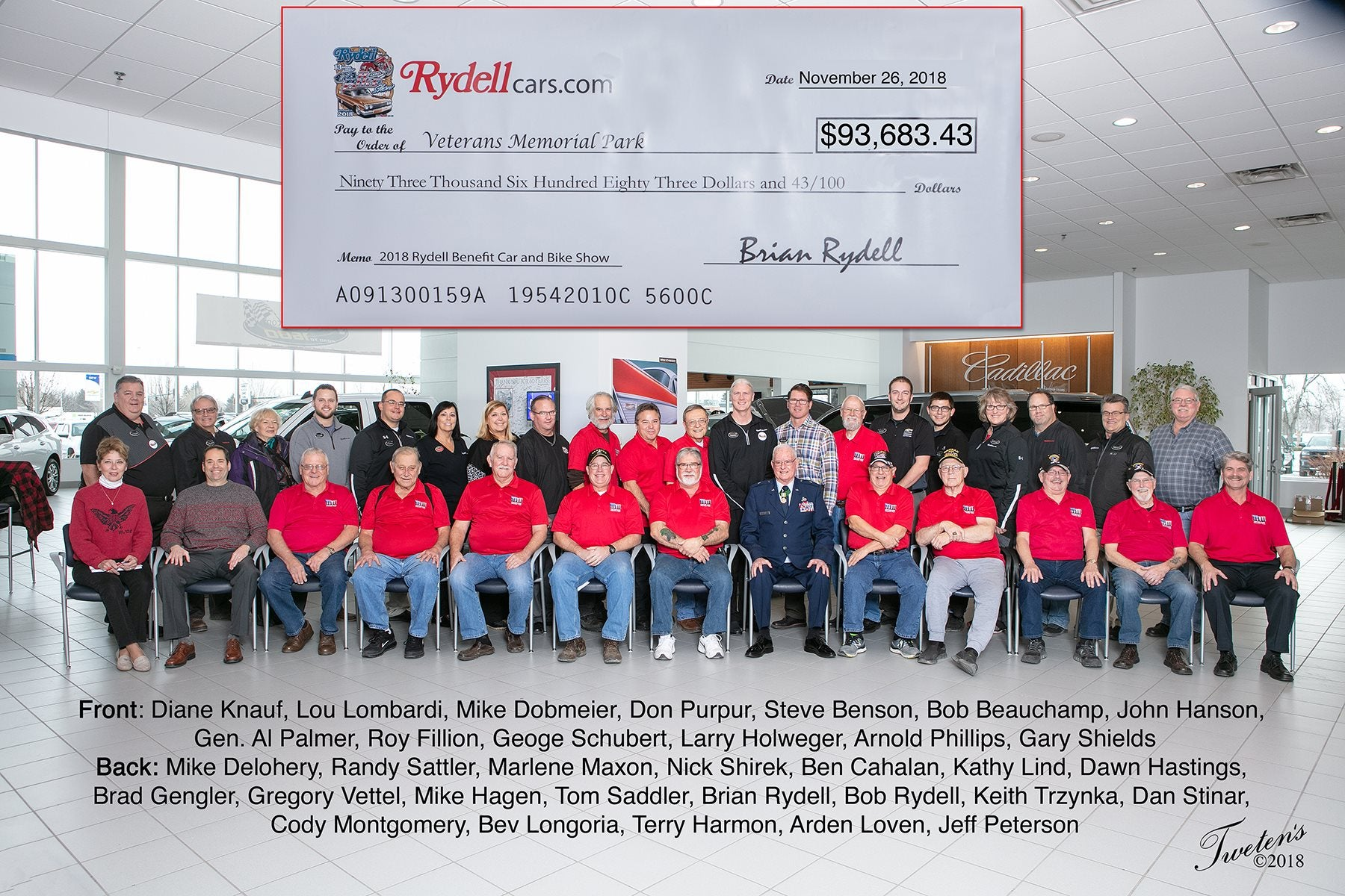 Rydell Community Involvement - Rydell Dealerships | Grand Forks, ND